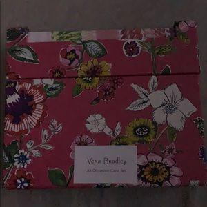 vera bradley card set